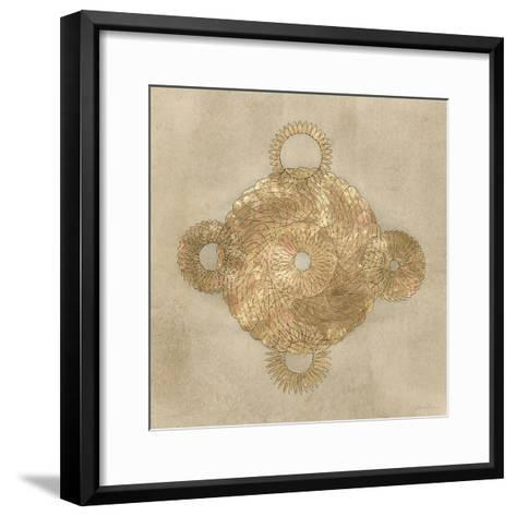 Solar Medallion II-Vanna Lam-Framed Art Print