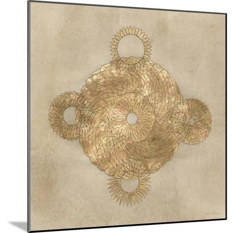 Solar Medallion II-Vanna Lam-Mounted Art Print