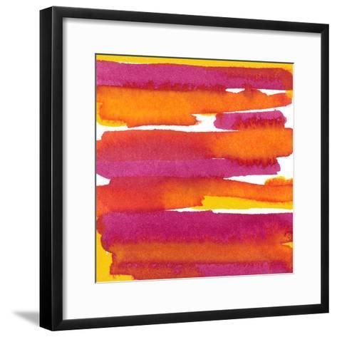 Sunset on Water I-Renee W^ Stramel-Framed Art Print