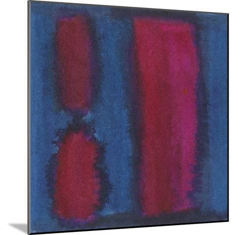 Indigo Meditation II-Renee W^ Stramel-Mounted Art Print
