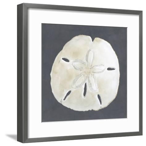 Shell on Slate II-Megan Meagher-Framed Art Print