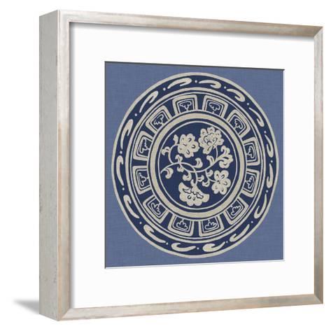 Indigo Earthenware III-Chariklia Zarris-Framed Art Print
