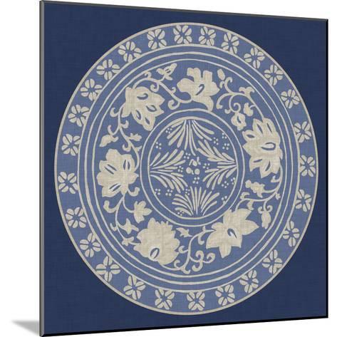 Indigo Earthenware IV-Chariklia Zarris-Mounted Art Print