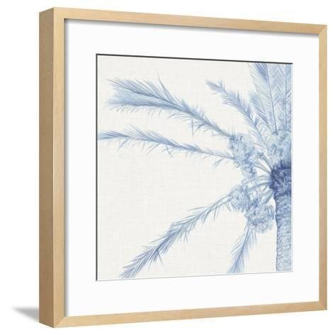 Chambray Palms I-Megan Meagher-Framed Art Print