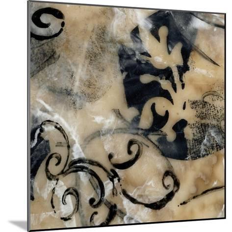 Swirls and Whirls IV-Jennifer Goldberger-Mounted Art Print