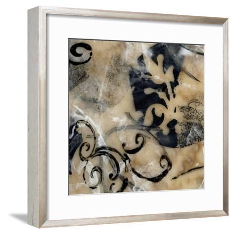 Swirls and Whirls IV-Jennifer Goldberger-Framed Art Print