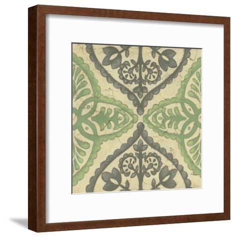 Quatrefoil III-Chariklia Zarris-Framed Art Print