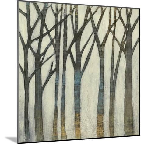 Birch Line I-Jennifer Goldberger-Mounted Art Print