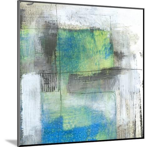 White on Blue II-Jennifer Goldberger-Mounted Art Print