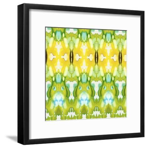 Watercolor Quilt III-Jennifer Goldberger-Framed Art Print