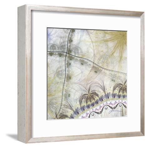 Bedouin Map II-James Burghardt-Framed Art Print