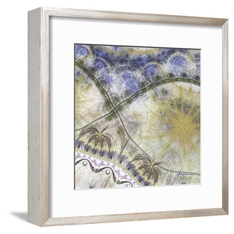 Bedouin Map I-James Burghardt-Framed Art Print