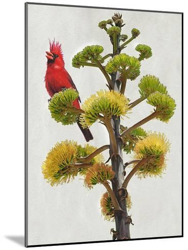 Avian Tropics I-Chris Vest-Mounted Art Print