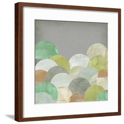 Scalloped Landscape II-Jennifer Goldberger-Framed Art Print