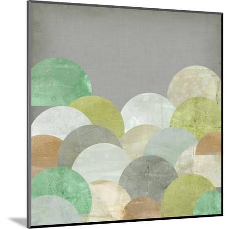 Scalloped Landscape II-Jennifer Goldberger-Mounted Art Print