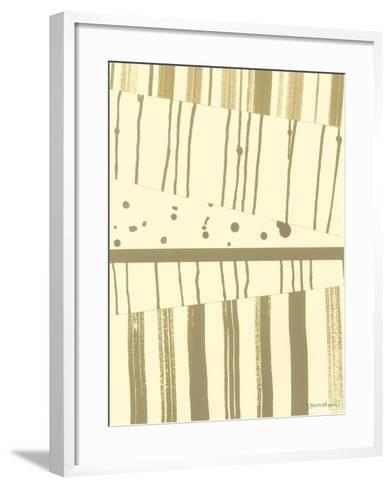 Papyrus Collage I-Vanna Lam-Framed Art Print