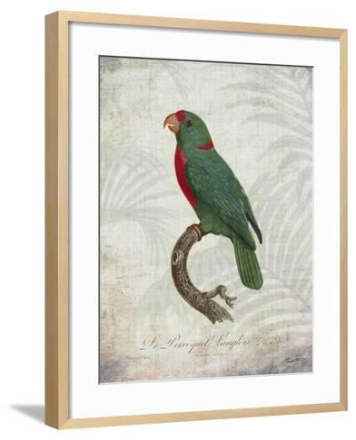 Parrot Jungle VI-John Butler-Framed Art Print