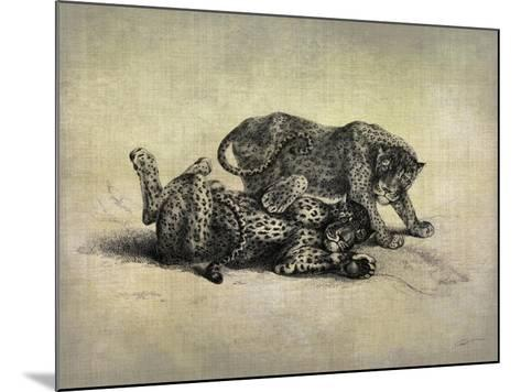 Big Cats II-John Butler-Mounted Art Print
