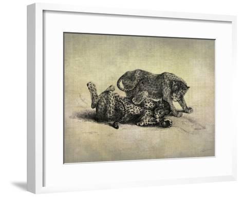 Big Cats II-John Butler-Framed Art Print
