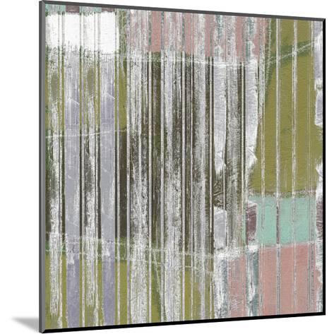 Linear Mix III-Jennifer Goldberger-Mounted Art Print