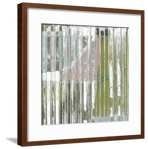 Linear Mix I-Jennifer Goldberger-Framed Art Print