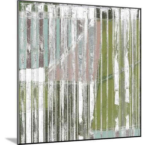 Linear Mix I-Jennifer Goldberger-Mounted Art Print