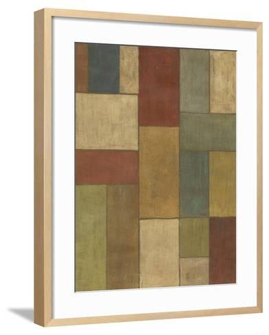 Tiled Abstract II-Megan Meagher-Framed Art Print