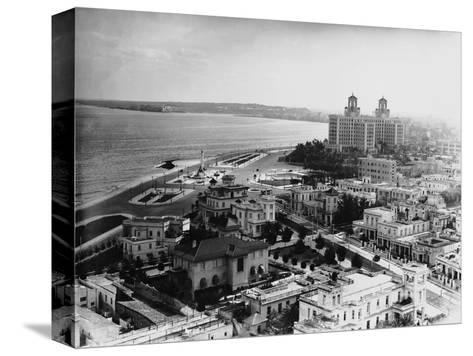 Aerial View of Havana--Stretched Canvas Print