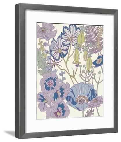 Graphic Garden III-Chariklia Zarris-Framed Art Print