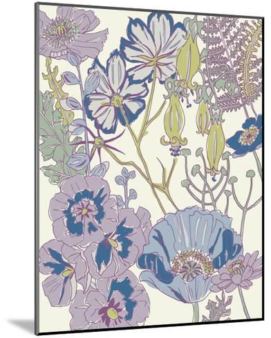 Graphic Garden III-Chariklia Zarris-Mounted Art Print