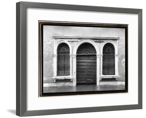 Hidden Passages, Venice V-Laura Denardo-Framed Art Print