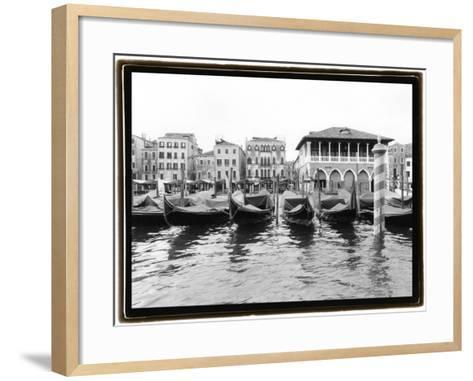 Glimpses, Grand Canal, Venice II-Laura Denardo-Framed Art Print
