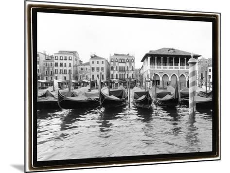 Glimpses, Grand Canal, Venice II-Laura Denardo-Mounted Art Print