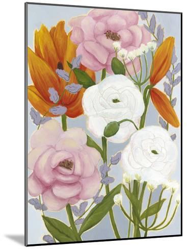 Morning Bouquet II-Grace Popp-Mounted Art Print
