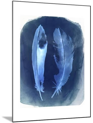 Feather Negatives I-Grace Popp-Mounted Art Print