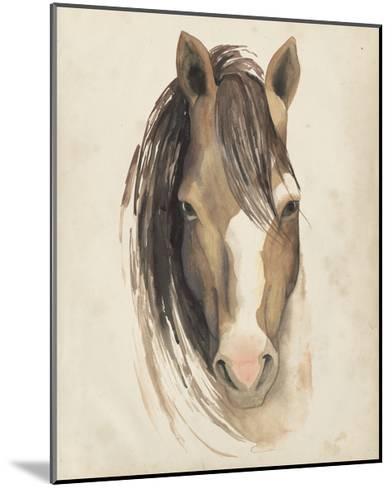 Watercolor Animal Study V-Grace Popp-Mounted Art Print
