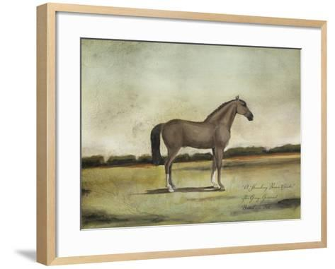 A Strawberry Roan Hunter-Naomi McCavitt-Framed Art Print