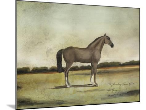 A Strawberry Roan Hunter-Naomi McCavitt-Mounted Art Print