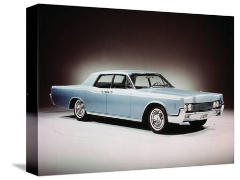 1966 Lincoln Continental Four Door Sedan.--Stretched Canvas Print