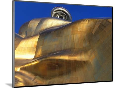 The Experience Music Project, Seattle, Washington, USA-William Sutton-Mounted Photographic Print
