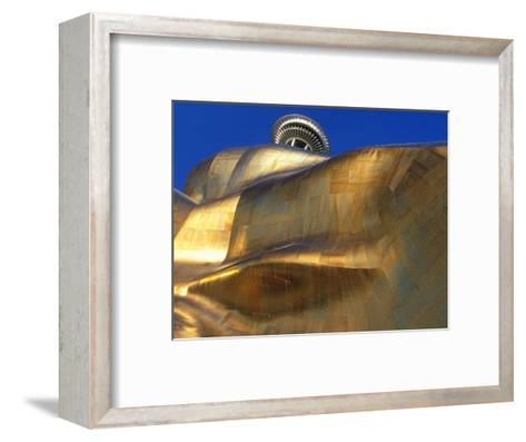 The Experience Music Project, Seattle, Washington, USA-William Sutton-Framed Art Print