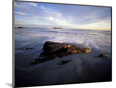 Low Tide and Surf, Wallis Sands State Park, New Hampshire, USA-Jerry & Marcy Monkman-Mounted Photographic Print