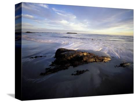 Low Tide and Surf, Wallis Sands State Park, New Hampshire, USA-Jerry & Marcy Monkman-Stretched Canvas Print