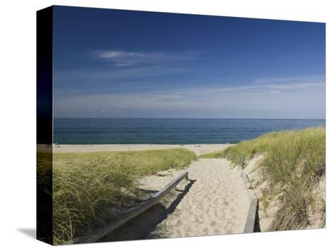 Old Harbor Life Saving Museum, Provincetown, Cape Cod, Massachusetts, USA-Walter Bibikow-Stretched Canvas Print