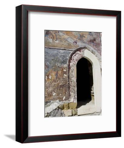 Inside Sumela Monastery, Trabzon, Turkey-Cindy Miller Hopkins-Framed Art Print