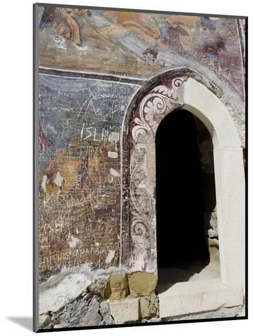 Inside Sumela Monastery, Trabzon, Turkey-Cindy Miller Hopkins-Mounted Photographic Print