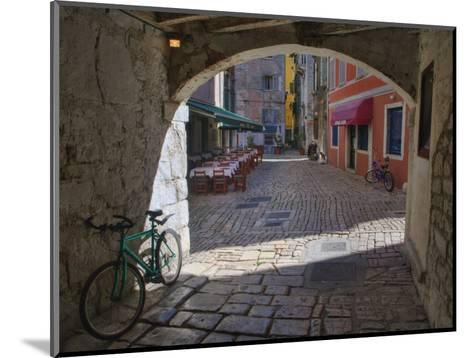 Outdoor Cafe, Rovigno, Croatia-Adam Jones-Mounted Photographic Print