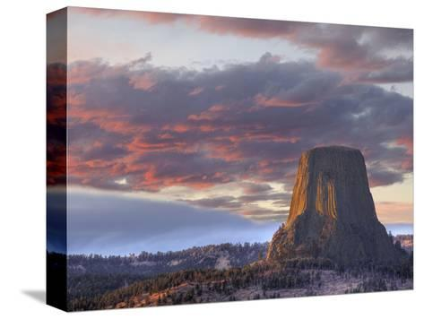 Devils Tower National Monument, Wyoming, USA-Jamie & Judy Wild-Stretched Canvas Print