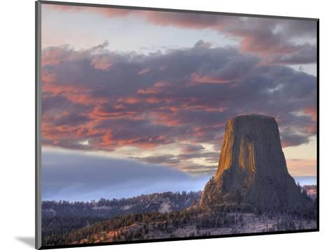 Devils Tower National Monument, Wyoming, USA-Jamie & Judy Wild-Mounted Photographic Print