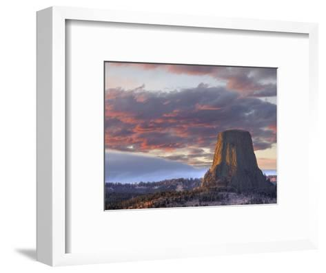 Devils Tower National Monument, Wyoming, USA-Jamie & Judy Wild-Framed Art Print